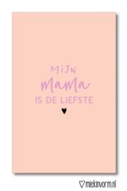 Mini kaartje || Mijn mama is de liefste