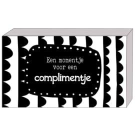 Cadeaudoosje || Een momentje voor complimentje