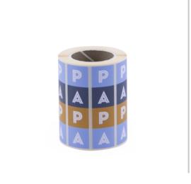 Sticker | Papa | 5 stuks