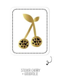 Sticker | Cherry | 10 stuks