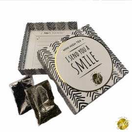 Kaart & Cadeau || I send you a smile - Mini high tea