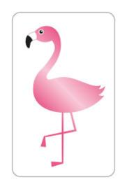 Sticker | Flamingo | 10 stuks