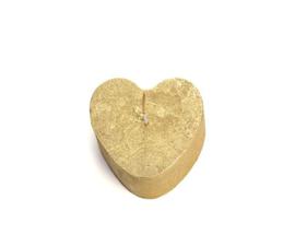 Rustik Lys - Hartje goud 8 x 5,5 CM