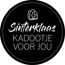 Stickers   Sinterklaas kadootje voor jou XL   5 stuks