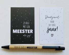 Pen || voor de leukste meester