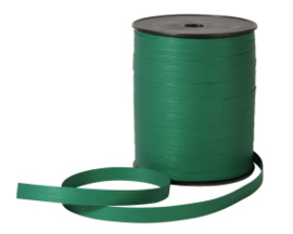 Krullint || Paperlook donker groen -  5M