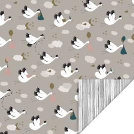 Cadeauzakje | Baby bird 17x25 CM - 5 stuks