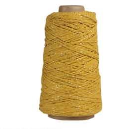 Koord Lurex Twist - Okergeel/goud 5M