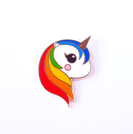 Pin || Eenhoorn regenboog