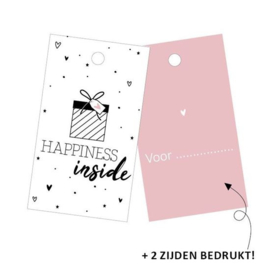 Cadeaulabel | Happiness inside