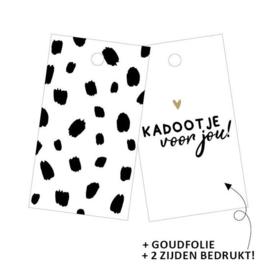 Cadeaulabel | Dots / Kadootje voor jou