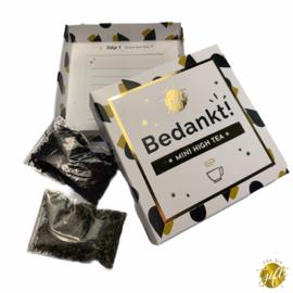Kaart & Cadeau || Bedankt - Mini high tea