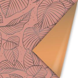 Inpakpapier   Lovely leaves fall 30CM x 3M