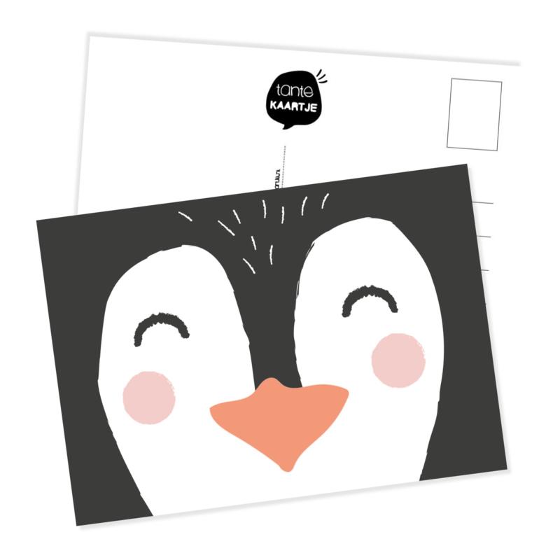 Ansichtkaart | Snoetje piguin