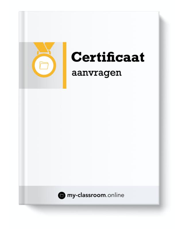 1 x Certificaat