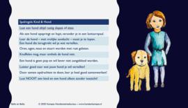 Postkaart Spelregels Kind & Hond