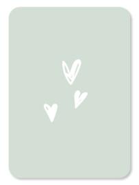 Hartjes (mintgroen)