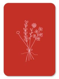 Minikaart Bloemen
