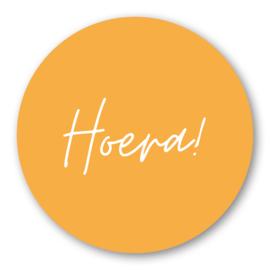 Sticker Hoera!