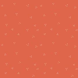Inpakpapier stipjes rood