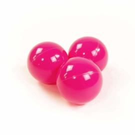 Donker roze - ballenbak  ballen