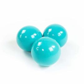 Turquoise - ballenbak ballen
