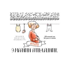 O'Baby by Pauline - 9 maanden aftelkalender