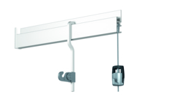 Newly S-rod 200 cm/6,5 ft white 4101.200