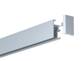 Newly R20 rail 200 cm/6,5 ft silver 1202.200