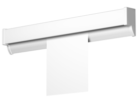 Newly R50 rail white 100 cm/3,2 ft 1501.100