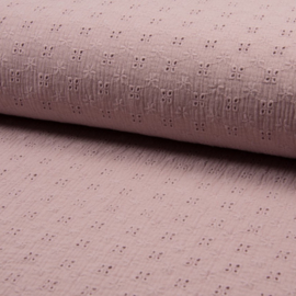 Soft Pink Broderie