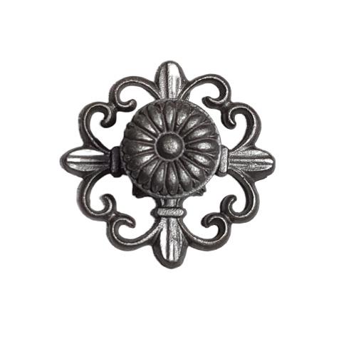 metalen knop french/N-rd