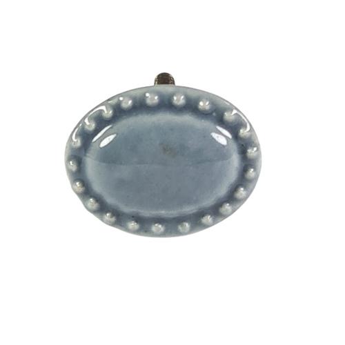 porseleinen knop ovaal-gr-35