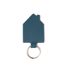 KC - Keyring Good House Keeper faded blue