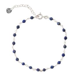 BS - Harmony Lapis Lazuli Silver Bracelet (AW23399)