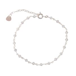 BS - Harmony Rose Quartz Silver Bracelet (AW22299)