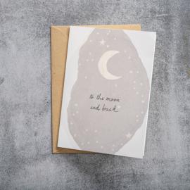 BS - Greeting Card Moon (GC0026)