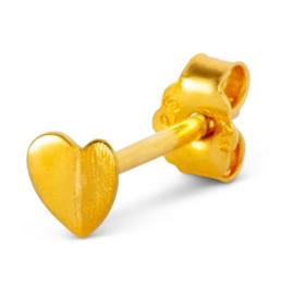 LU - Heart Wings 1pcs Gold Plated (1084-LL62)