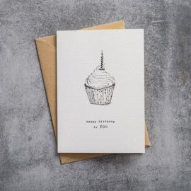 BS - Greeting Card Cupcake (GC0075)