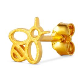 LU - Bzzzz 1pcs Gold Plated (1121-LL62)