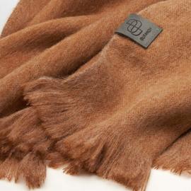 BU - Brushed Solid Alpaca Shawl Caramel Sundae (880325)
