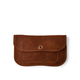 KC - Wallet Cat Chase Small cognac used look