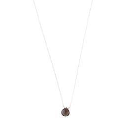 BS - Divine Smokey Quartz Silver Necklace (AW25233)