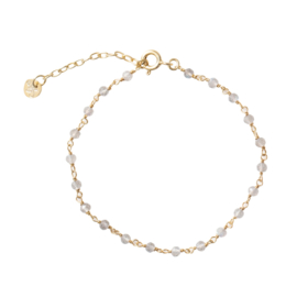 BS - Harmony Labradorite Silver Gold Plated Bracelet (AW22699)