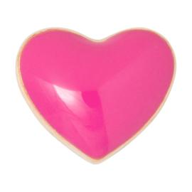 LU - Love U 1pcs Enamel Pink (1024-LL51)