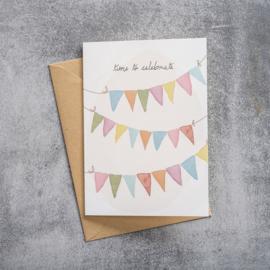 BS - Greeting Card Celebrate (GC0031)