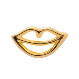 LU - Secret 1 pcs Shiny Gold Plated (E104-LL62)