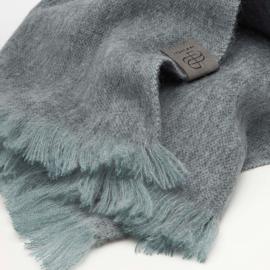 BU - Brushed Solid XS Alpaca Shawl Comfort Grey (88035201)
