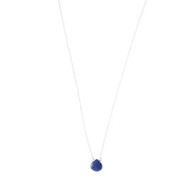 BS - Divine Lapis Lazuli Silver Necklace (AW24833)
