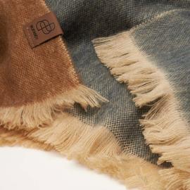 BU - Brushed Ombre Alpaca Shawl Shaded Caramel (770009)